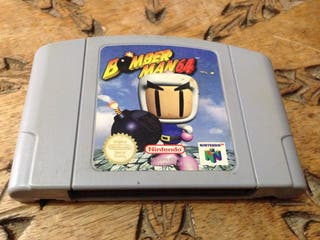 Juego N64 Bomberman