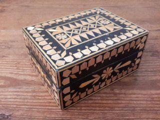 Caja de marquetería URSS años 70