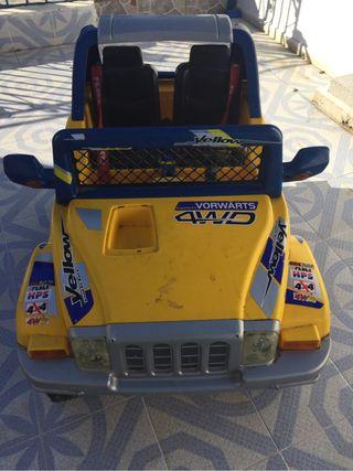 coche de bateria para niño