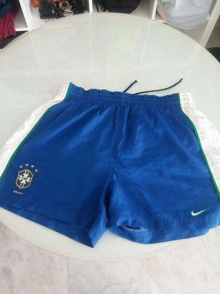 Pantalón futbol oficial de Brasil del 98
