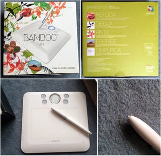 Wacom Bamboo Fun Tablet CTE-450/W-ES