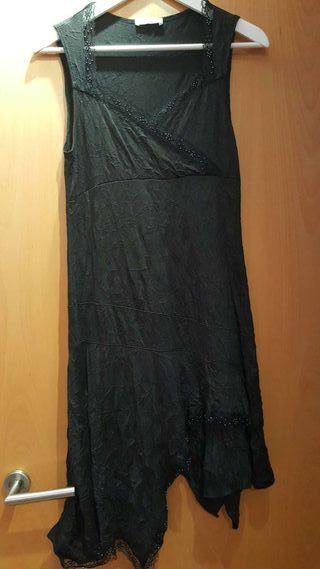 Vestido negro Promod