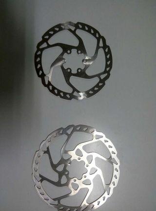 Discos shimano slx 160 y 180
