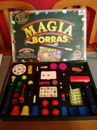 Juego completo de magia borras