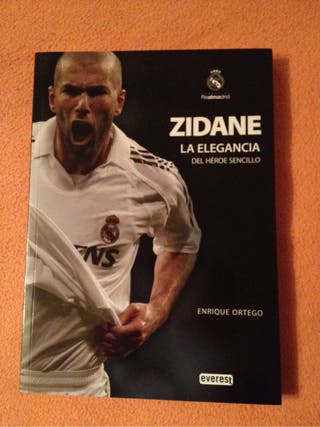 Libro Zidane Real Madrid