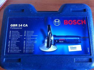 Lijadora-fresadora BOSCH GBR 14 CA