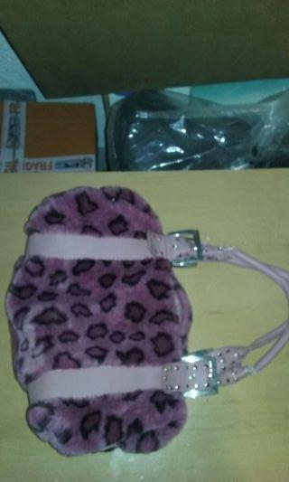 Bolso leopardo rosa