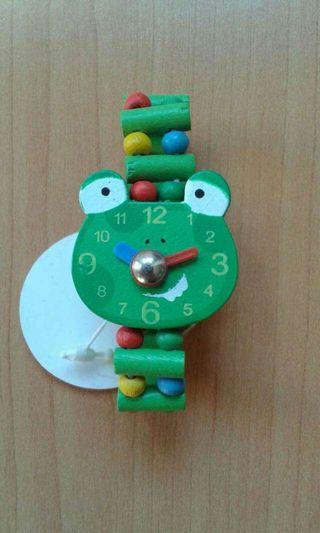 Reloj de pulsera de madera Rana