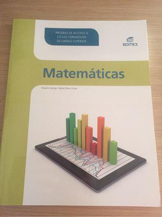 Matematicas Acceso A Grado Superior
