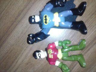 Batman y robin totalmente articulado