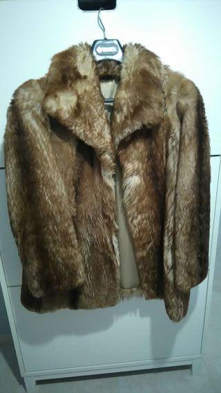 Abrigo piel chinchilla
