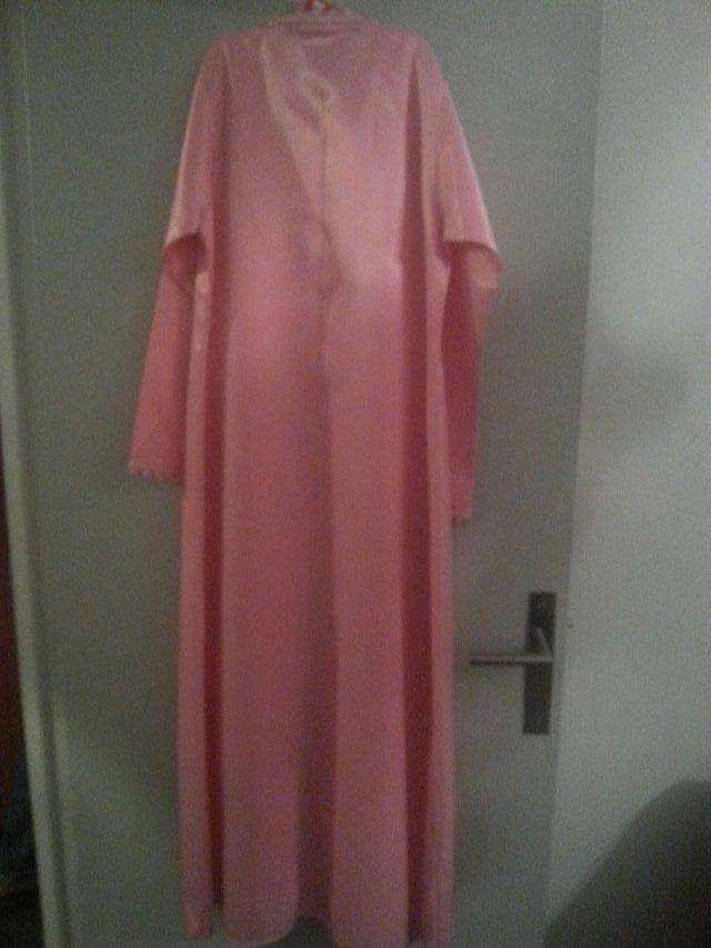 Robe marocaine tekcheta kamisse rose neuf