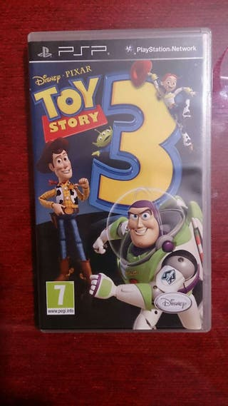 Juego Psp Toy Story 3