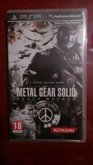 Juego Psp Metal Gear Solid