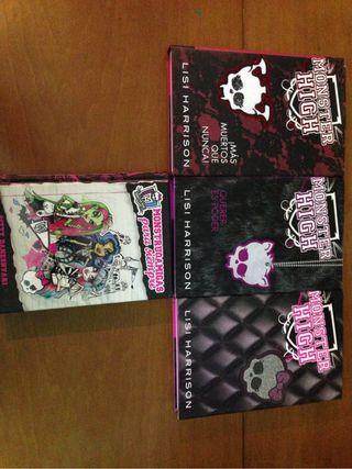 Libros Monster High