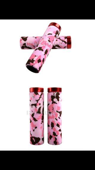 Puños camuflaje rosa