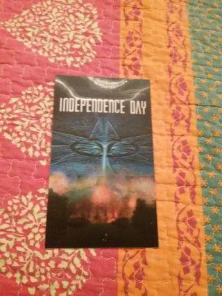 Publicidad en 3D de la película Independence Day