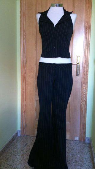 Conjunto pantalón y corpiño talla 40