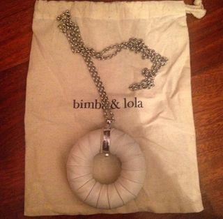 Collar Piel Bimba Y Lola