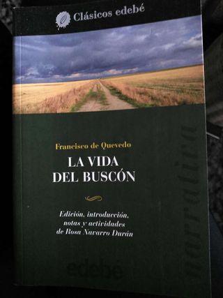 Libro la vida del buscón