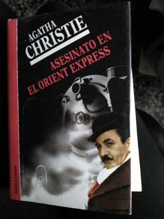 Libro adatha christie. Asesinato en el orient express.