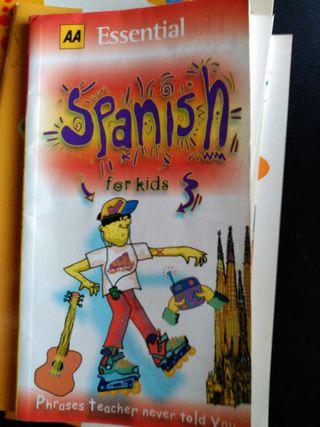 Libro spanish for kids.