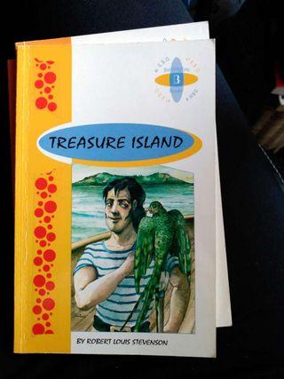 Libro inglés treasure island.