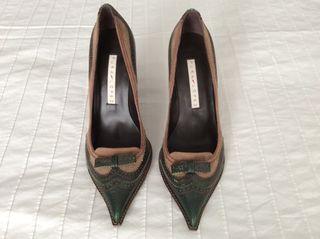 Zapato de Piel a Estrenar. Firma Pura Lopez