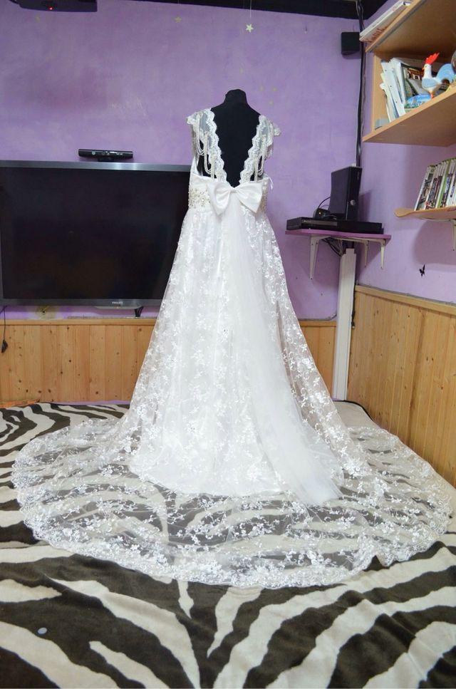 vestido de novia wallapop