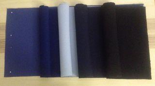 5 Salvamanteles Azul Oscuro Casi Negro