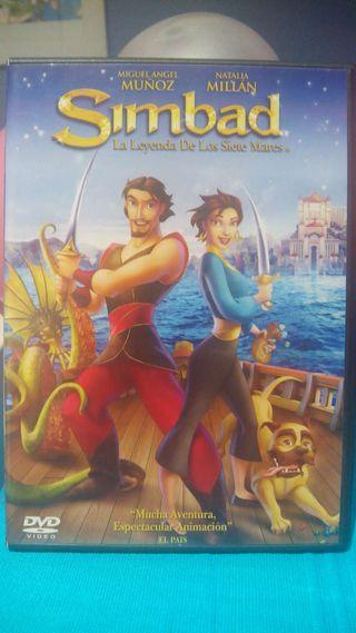Dvd Simbad el marino