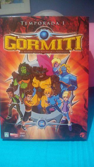 4 dvd Gormiti temporada 1