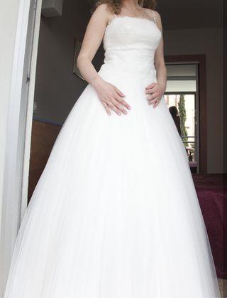 falda de novia de tul de segunda mano en barcelona en wallapop
