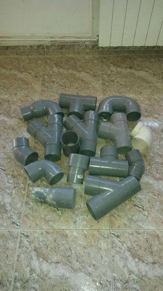 """Lote tubos PVC 90"""""""