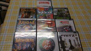 Lote juegos CD-ROM para PC