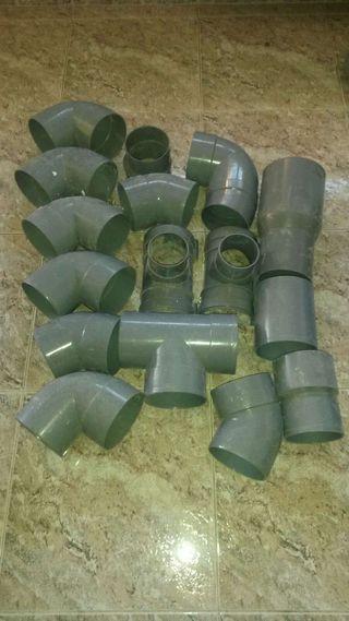 """Lote tubos PVC 125"""""""