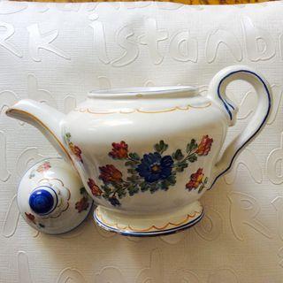 Tetera Porcelana B.Meliana. Antigua