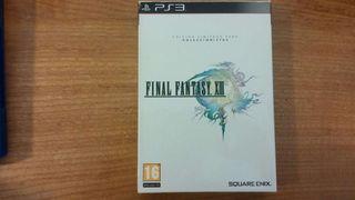 Final fantasy XIII Ed.Coleccionista PS3