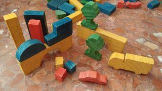 Juego infantil construcción