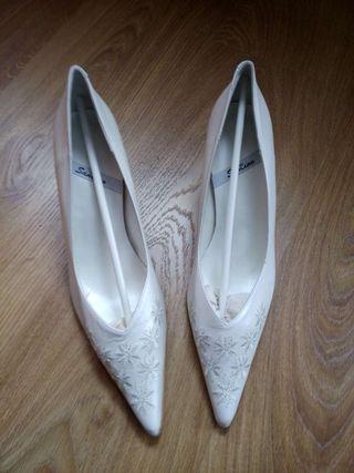 zapatos de novia de segunda mano en salamanca en wallapop