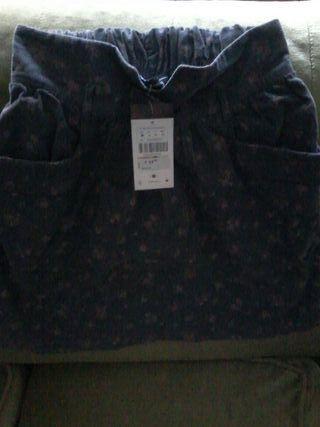 Falda pana talla M