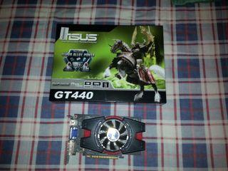 Tarjeta gráfica Nvidia GeForce gt 440