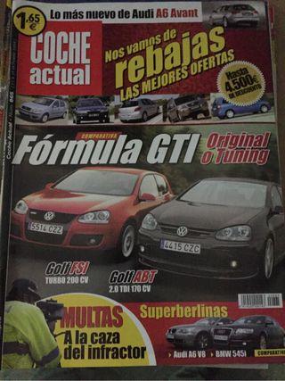 Revista Coche Actual año 2004 - Golf