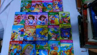 Lote de 19 cuentos pequeños infantiles Servilibro