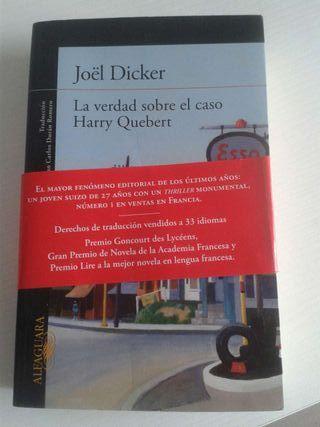 Libro La verdad sobre el caso Harry Quebert