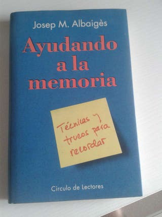Libro AYUDANDO a la MEMORIA