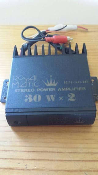 2 .Amplificador 60 wattios