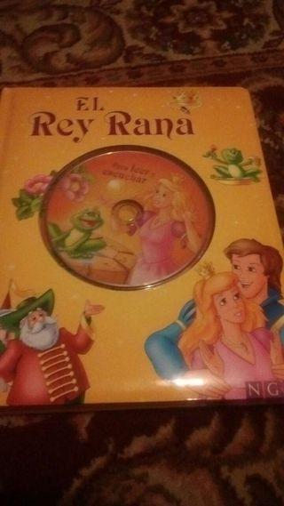 Cuento El Rey Rana con CD