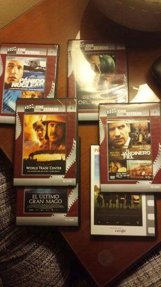 Pack películas dvd y capítulo tintin