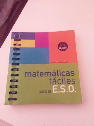 Libro Matematicas Para La Eso